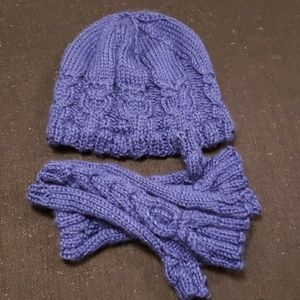 Owl Crochet Hat and Gloves